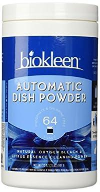 Biokleen Automatic Dish Soap Powder - 32 oz - Citrus - 2 pk
