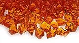 Kristall Steine 25 mm ORANGE 200 Stück Dekosteine Streudeko Diamanten Tischdekoration Glas