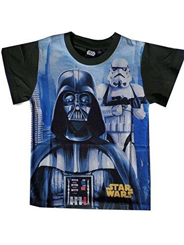 Jungen Official Star Wars Stormtrooper-Druck-T-Shirt Top Alter 4-12 Jahre