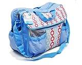 RSW Wickeltasche, wasserfest, viele Taschen, Wickelauflage, Schulterriemen