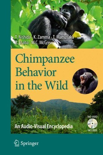 Chimpanzee Behavior in the Wild: An Audio-Visual Encyclopedia by Toshisada Nishida (2010-10-06)