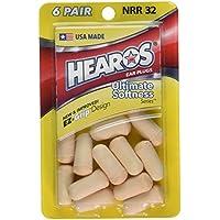 Hearos Ohrstöpsel Ultimate Softness Gehörschutzstöpsel Serie, 6Zählen preisvergleich bei billige-tabletten.eu