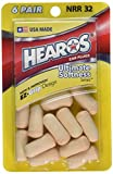 Hearos Ear Plugs Ultimate morbidezza Series, 6count