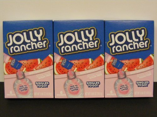 lot-of-3-6-ct-boxes-jolly-rancher-watermelon-singles-to-go-sugar-free-drink-mix-by-the-hershey-compa