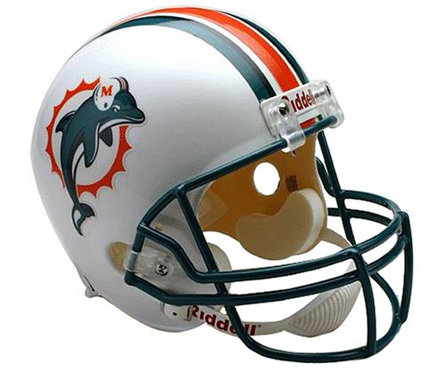 NFL Arizona Cardinals, luxuriöser Football-Helm, Replika , damen Kinder unisex Herren, Miami Dolphins (Arizona Golf Herren)