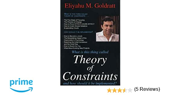 buy theory of constraints book online at low prices in  buy theory of constraints book online at low prices in theory of constraints reviews ratings in