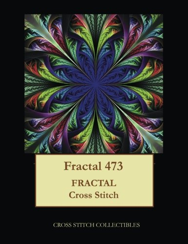 Fractal 473: Fractal cross stitch pattern