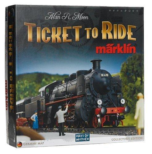 Marklin - Days Of Wonder Ticket To Ride - Juego de mesa (en inglés)