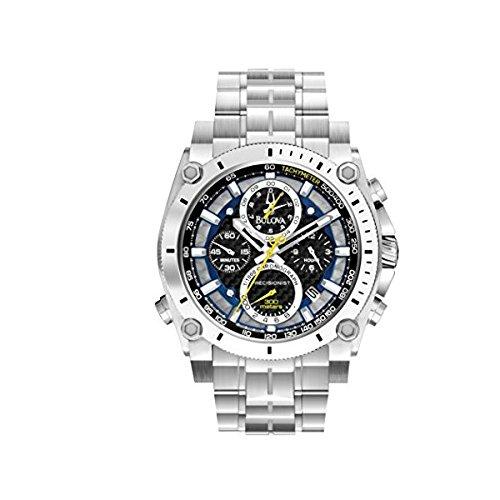 96B175da uomo Bulova Precisionist cronografo