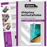 dipos I 2X Schutzfolie klar passend für Vodafone Smart Prime 7 Folie Bildschirmschutzfolie