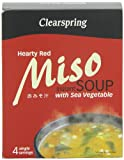 Clearspring Miso Sopa picante con sea vegetables - 40 gr