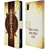 Official HBO Game Of Thrones Opening Sequence Key Art Leather Book Wallet Case Cover For Sony Xperia Z2