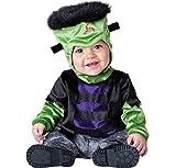 ASVP Shop®, Party-Kostüm für Weihnachten und Halloween, Baby, Jungs, Mädchen, Overall für Kleinkinder Gr. 12-18 Monate, Monster-Boo Frankenstein