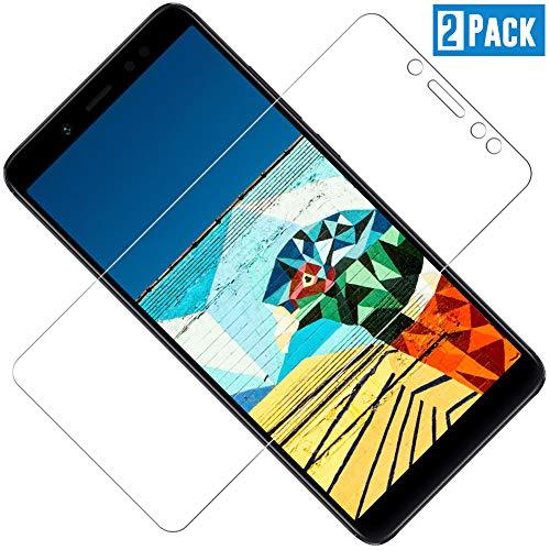 TOIYIOC [2 Stück Panzerglas Schutzfolie für Xiaomi Redmi Note 5, 0.30mm Ultra-klar Folie Panzerglasfolie, Bildschirmschutzfolie kompatibel Xiaomi Redmi Note 5