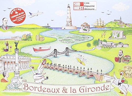De Bordeaux à Cordouan : Contient : 1 plateau, 6 pions, 2 dés