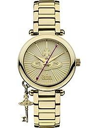 Vivienne Westwood Womens Kensington II Watch - Gold