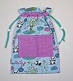 Bolsa infantil niño, para la ropa de recambio en la guarderia.