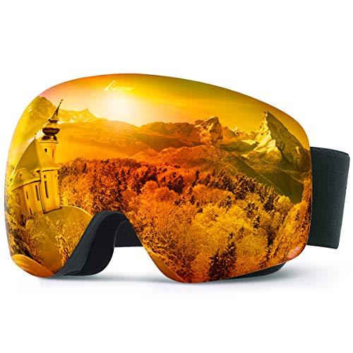Elegear Gafas Snowboard Gafas Esquí - [Edición Ventaja