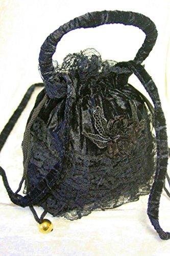 Dark Dreams Mittelalter Gothic Tasche Beutel Sweet Vanity, Farbe:schwarz - 2
