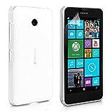 Yousave Accessories Cover Per Microsoft Lumia 532 Custodia Chiaro Trasparente Silicone Gel