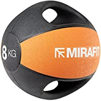 Preisvergleich für MiraFit Medizinball mit Zwei Griffen – Verschiedene Größen
