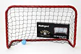 Bandit Unihockey und Floorball Tor - 90x60x40 cm, rot