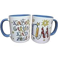 Kindergarten-Tasse mit Namen, Kindergartenkind 2018, personalisierte Kindergartenkindtasse, Rosirosinchen