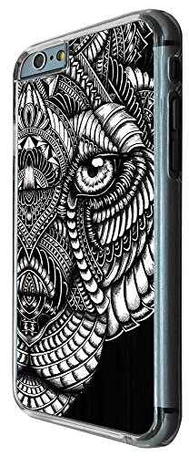 462 - Aztec tiger face black and white Design iphone SE 5 5S Hülle Fashion Trend Case Back Cover Metall und Kunststoff