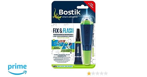 Bostik Fix /& Flash Adhesive UV Light Activated All Purpose 5g Glue 30613579