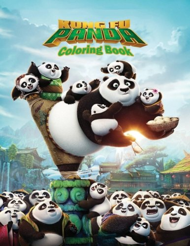 Kung Fu Panda: Coloring Book for Kids and Adults, Activity Book, Great Starter Book for Children (Coloring Book for Adults Relaxation and for Kids Ages 4-12) por Juliana Orneo