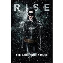 Batman - Poster The dark knight rises: Catwoman rise (in 61 cm x 91,5 cm)