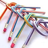 godhl 30Stück weiche flexible Bleistifte Magische Stifte biegsam für Kinder