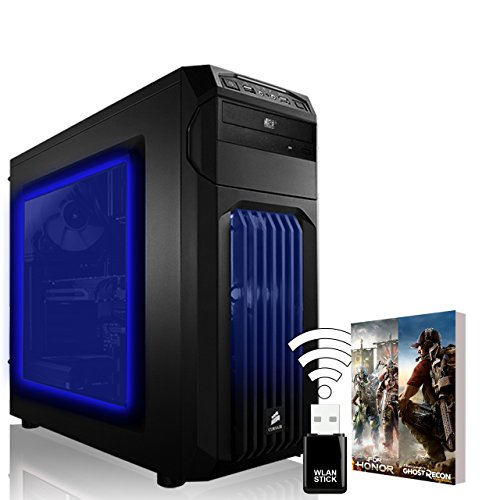 AGANDO-Extreme-Gaming-PC-Intel-Core-i5-6600-4x-35GHz-Turbo-39GHz-GeForce-GTX1080-Ti-11GB-Gigabyte-Founders-Ed-8GB-RAM-240GB-SSD-1000GB-HDD-DVD-RW-Gigabyte-Gaming-Mainboard-USB30-Killer-LAN-Soundblaste
