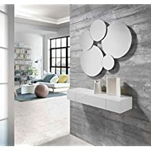 ch design recibidores modernos consola tiku blanca ibergada