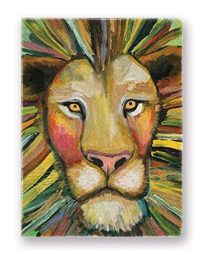 Studio Oh! Hardcover Compact Deconstructed Tagebuch, 2 Stück Majestic Lion
