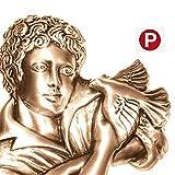 AmazinGrave - Dekorative Ornamenten Verschiedene, Grabdekorationen für Grabsteine Anwendung - Ornament für Grabstein 17x15cm - Grabschmuck Bronze 3057 - 3