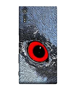 FUSON Designer Back Case Cover for Sony Xperia XR (Fly Sky Birds Rang Pakki Beek Birdy Red Pattern)