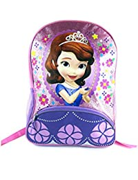 Disney Sofia The First Pink And Purple 16 Inch Backpack
