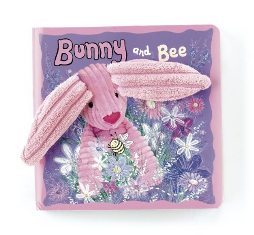 Image of Jellycat Bunny and Bee Board Book