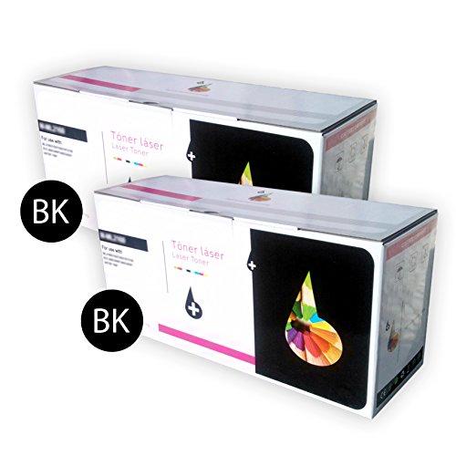 Preisvergleich Produktbild Pack 2 x Toner schwarz kompatibel für Canon FC 430 Modell E16 BK. 4000 Kopien