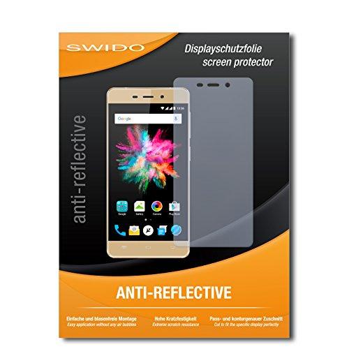 SWIDO Schutzfolie für Allview X3 Soul Mini [2 Stück] Anti-Reflex MATT Entspiegelnd, Hoher Härtegrad, Schutz vor Kratzer/Bildschirmschutz, Bildschirmschutzfolie, Panzerglas-Folie