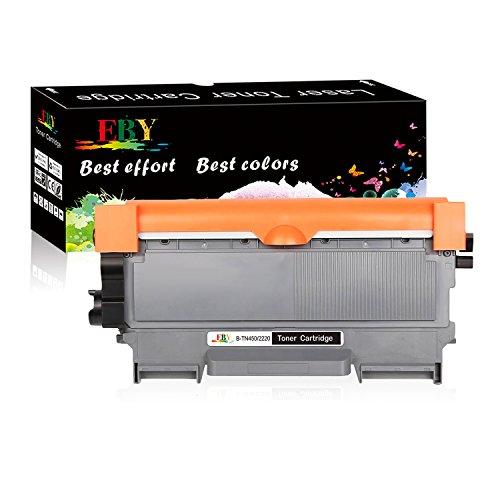 EBY Toner kompatibel für TN-2220 TN2220 TN-2010 TN2010 für HL-2240 HL-2240D HL-2250DN HL-2270DW DCP-7060D DCP-7065DN DCP-7070DW MFC-7360N MFC-7460DN MFC-77860DW FAX-2840 FAX-2845 FAX-2940