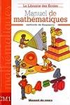 Manuel de math�matiques CM1