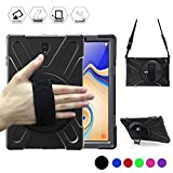 Galaxy Tab S4 10.5 Case, BRAECN [Shoulder strap] [Hand