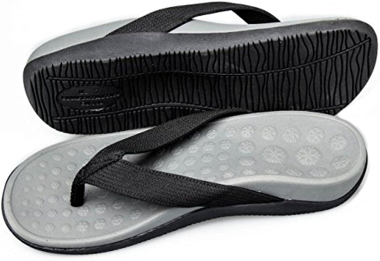 Bodytec Wellbeing Orthopädische Sandalen mit großer Arch Unterstützung und Plantar fascitits Relief