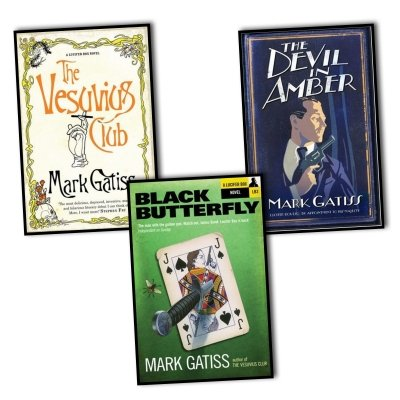 Mark Gatiss A Lucifer Box Novel Series 3 Books Collection Set (Black Butterfly)