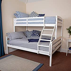 Wido Triple Sleeper Bunk Bed Frame Double Single Childrens Kids No Mattress