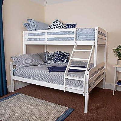 Wido Triple Sleeper Bunk Bed Frame Double Single Childrens Kids No Mattress