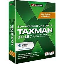 Lexware TAXMAN 2018 Minibox für Selbstständige / Übersichtliche Steuererklärungssoftware für Selbstständige, Gründer und Unternehmer / Kompatibel mit Windows 7 oder aktueller