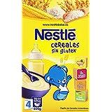 Nestlé Papillas Cereales sin Gluten a Partir de 4 Meses - 600 g